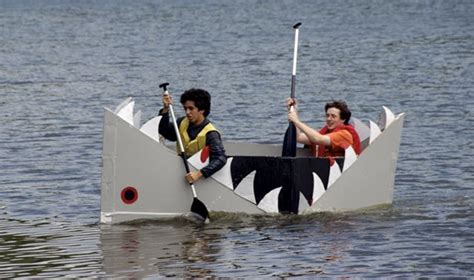 Cardboard Boat Where The Wild Things Are by Northwest Storages