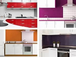 Küche Rot Streichen : farben in der k che so wird die k che bunt tipps von ~ Markanthonyermac.com Haus und Dekorationen