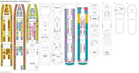 grandeur of the seas deck plans diagrams pictures