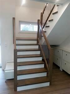 Halbgewendelte Treppe Mit Podest : referenzen tischlerei k hn ~ Markanthonyermac.com Haus und Dekorationen