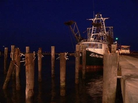 Shrimp Boat Night by Shrimp Boats At Night Biloxi Ms 001 Photo 1449135