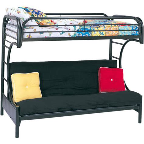 Futon Bunk Bed Walmart eclipse twin over full futon bunk bed multiple colors