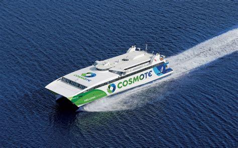 Catamaran Vs Monohull Ferry by Highspeed Our Fleet Hellenic Seaways 18 Years Our
