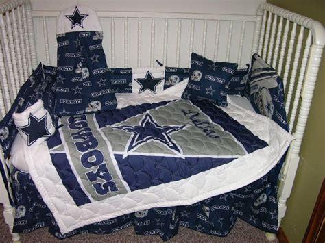 New Crib Nursery Bedding Mw Dallas Cowboys Fabric