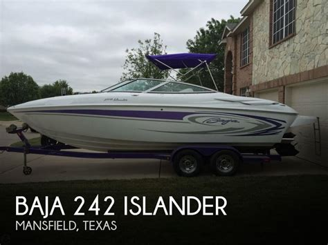 Performance Boats For Sale In Texas by Baja 242 Islander For Sale In Mansfield Tx For 34 000