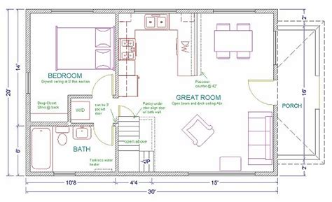 20 X 40 Home Design : 17 Best Images About 20 X 40 Plans On Pinterest