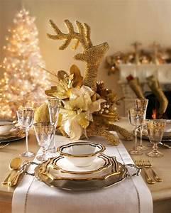 Esstisch Weihnachtlich Dekorieren : tisch weihnachtlich dekorieren 41 deko ideen f r weihnachtstafel deko feiern ~ Markanthonyermac.com Haus und Dekorationen
