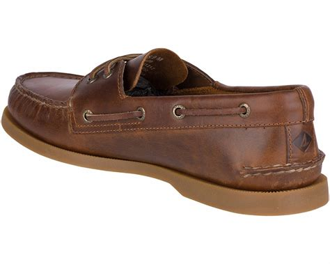 Tan Sperry Boat Shoes by Sperry Authentic Original 2 Eye Orleans Boat Shoe Tan