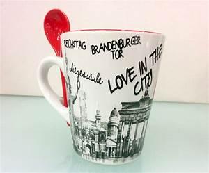Berlin Souvenirs Online : americano cup with spoon love in the city berlin souvenirs online ~ Markanthonyermac.com Haus und Dekorationen