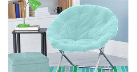 mainstays faux fur saucer chair colors rooms walmart home other