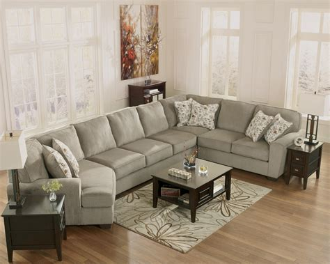 furniture patola park patina 4 sectional with left cuddler furniture and