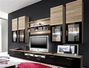 Moderne Wohnzimmer Schrankwand : top angebot wohnwand wohnzimmer schrankwand lyra eiche inkl beleuchtung 9158 ebay ~ Markanthonyermac.com Haus und Dekorationen