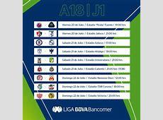 Apertura Liga MX 2018 CalendarioLaboralcommx