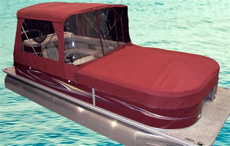 Pontoon Boat Hard Top Cover by Turn Your Pontoon Into A Cing Tent Rocky Mountain Rv