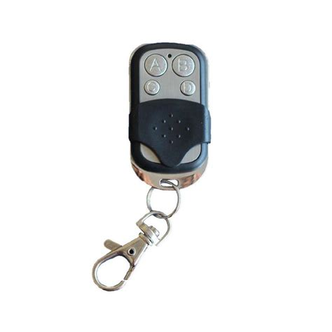 1x telecommande universelle 433 mhz porte de garage portail alarme 4 boutons bfsat