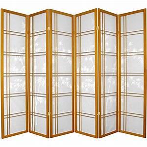 Japanische Designer Möbel : oriental m bel druckknopfstiel bambus baum design doppeltes kreuz japanische shoji screen ~ Markanthonyermac.com Haus und Dekorationen