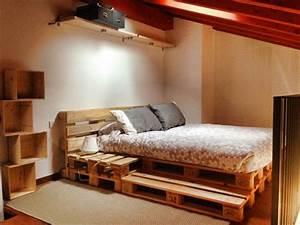 Bett Aus Europaletten Selber Bauen 140x200 : bett aus paletten 32 coole designs ~ Markanthonyermac.com Haus und Dekorationen