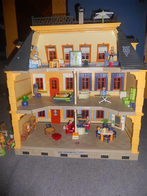 maison traditionnelle playmobil entierement meubl 233 e vendu katm62 photos club doctissimo