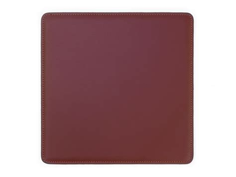 tapis souris en cuir ts700 marron