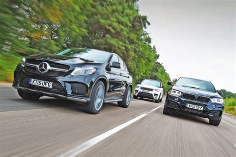Mercedes Gle Coupe Vs Bmw X6 & Range Rover Sport
