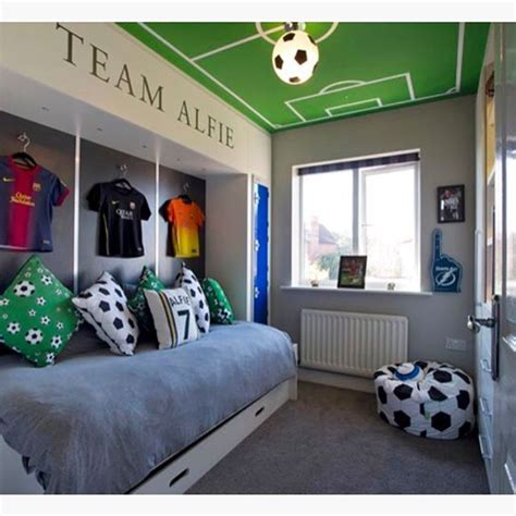 1000 ideas about soccer bedroom on boys soccer bedroom soccer room and soccer room