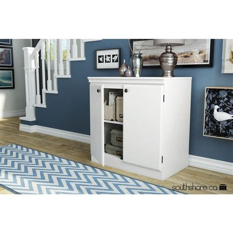 south shore white storage cabinet 7260722 the home depot