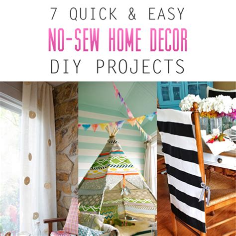 7 and easy no sew home decor diy projects the cottage market