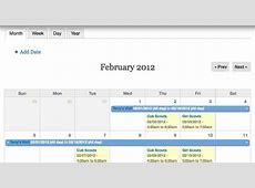 Calendar Drupalorg