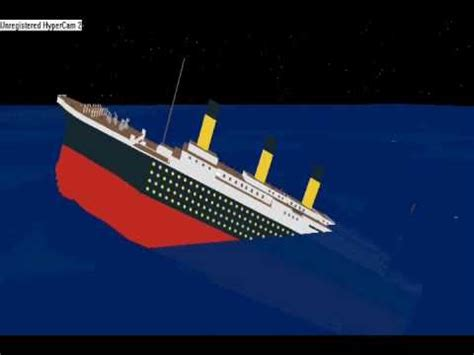 roblox titanic sinking real time gameonlineflash