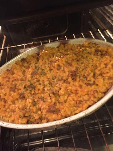 gratin de p 226 tes 224 la viande hach 233 e et aux oeufs recette de gratin de p 226 tes 224 la viande hach 233 e