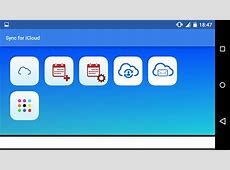 Sync for iCloud Android Apps on Google Play