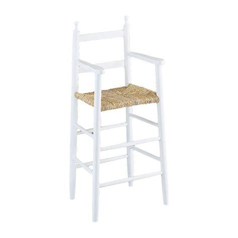 chaise haute enfant bois gaspard 4455