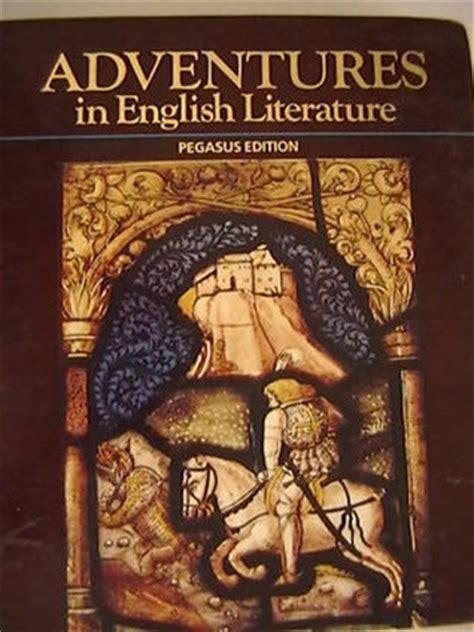 Adventures In English Literature, 1989 (grade 12) Pegasus Edition By Harcourt Brace Jovanovich