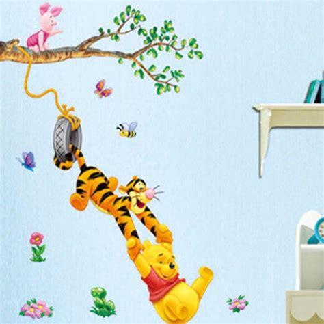 winnie the pooh decals bedroom baby nursery