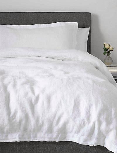 Pure Linen Bedding M&s