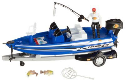 Toy Bass Boat by Bass Pro Shops Bass Boat Play Set For Kids Bass Pro Shops