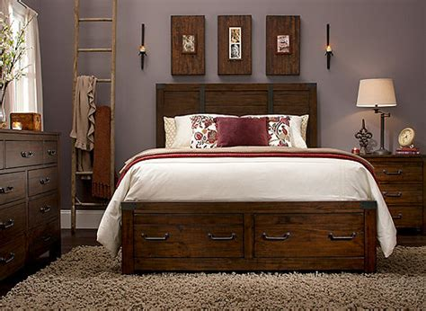 Raymond And Flanigan Dressers by Shelton 4 Pc King Bedroom Set W Storage Rustic Pine