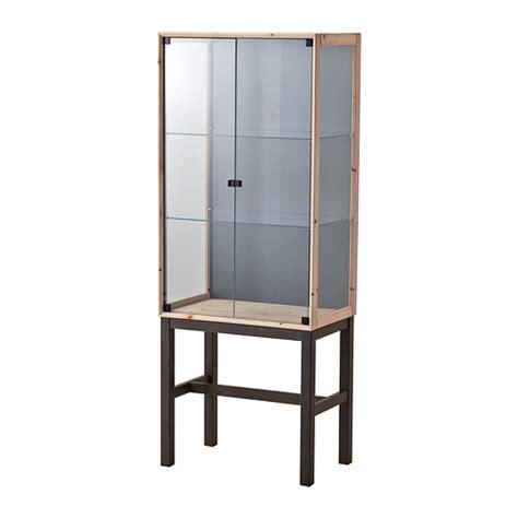 norn 196 s glass door cabinet with 2 doors ikea
