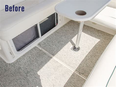 how to replace boat carpet with woven flooring sailrite