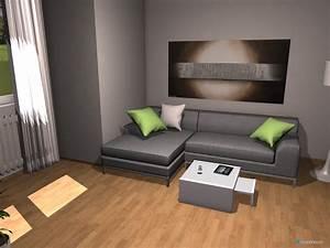 Moderne Tische Für Wohnzimmer : raumplanung modernes wohnzimmer mit erker roomeon community ~ Markanthonyermac.com Haus und Dekorationen