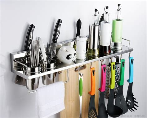 Stainless Steel Kitchen Rack, Kitchen Shelf, Cooking
