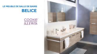 meuble de salle de bains belice cooke lewis 648739 castorama