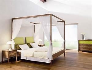 Vorhang über Bett : ikea bett himmelbett gestell ~ Markanthonyermac.com Haus und Dekorationen