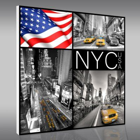 tableaux new york pas cher stickers folies