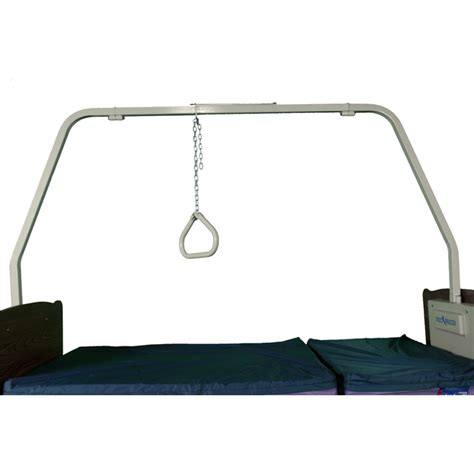 trapeze for hospital bed reduced gap fulllength hospital