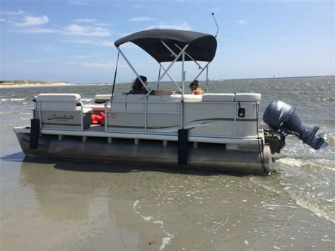 Little Pontoon Boat by Pontoon Boat Rentals Action Water Sportz Jet Ski