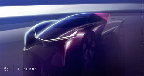 Visionary Faraday Future Ffzero1 Concept Revealed At Ces