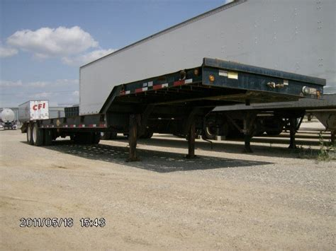 used 2000 viking drop deck trailer in fort worth tx