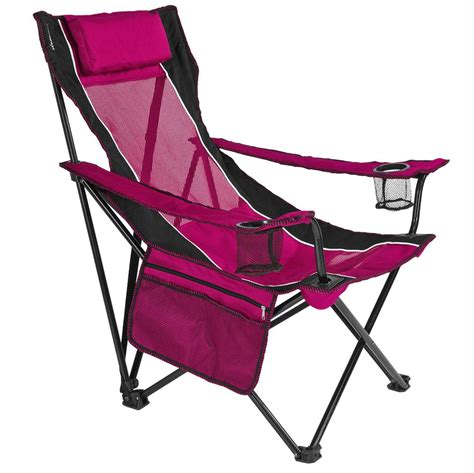 pink sling chair kijaro 80167 folding chairs cing