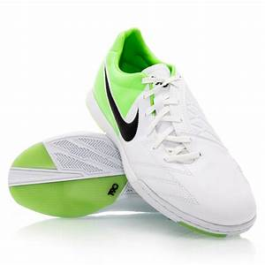 Nike T90 Shoot IV IC - Mens Indoor Soccer Shoes - White ...